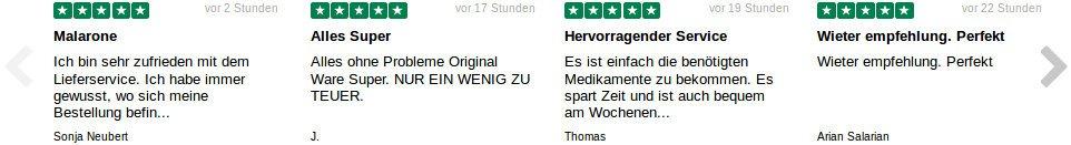 Bewertungen seriös von den Verbrauchern und Testimonials über Dokteronline Deutschland
