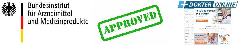 Dokteronline getestet und von BfArM von erfahrungen und bewertung von Kunden genehmigt als seriös