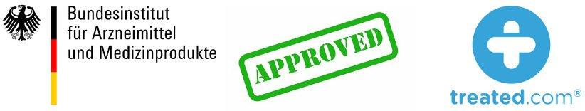 Treated getestet und von BfArM von erfahrungen und bewertung von Kunden genehmigt als seriös