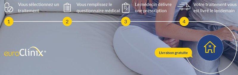Etapes à suivre pour commander vos médicaments sur euroclinix france