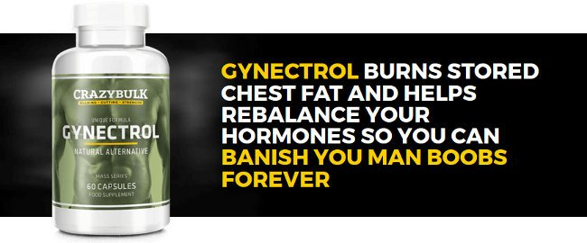 crazybulk gynectrol burns chest fat and banish man boobs