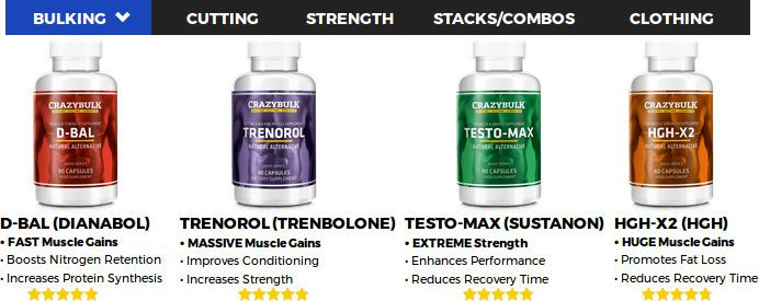 crazybulk testo max, trenorol, hgh x2,  anadrole and decaduro to increase muscles