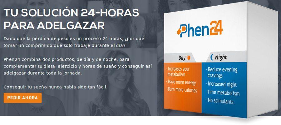 Phen24 ofrece una solución de 24 horas para adelgazar