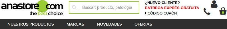 Anastore España: opinión sobre suplementos dietéticos y en el sitio web oficial es.anastore.com