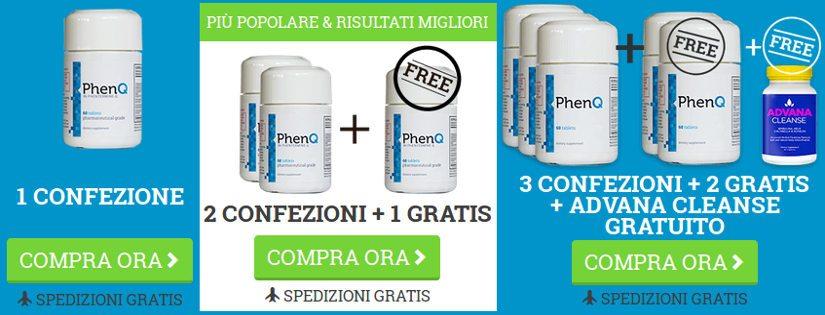 come ordinare il sito ufficiale phenq.it in italiano per ottenere il miglior valore