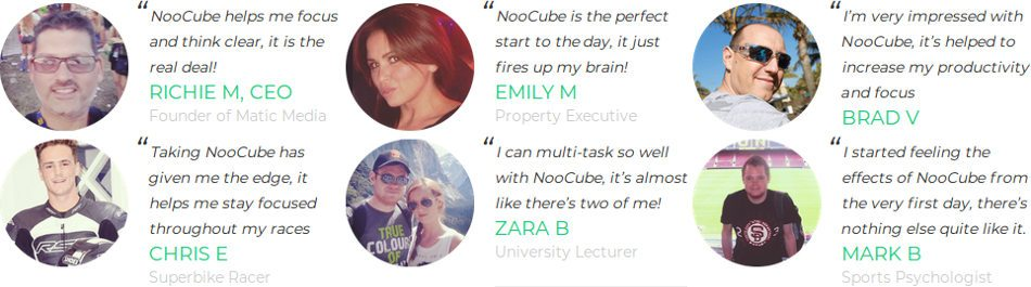 noocube reviews, feedback and testimonial of consumer