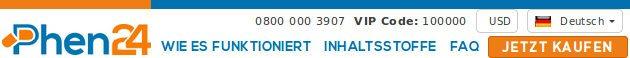 Phen24.de ist die offizielle deutsche Webseite, um Ihre Phen24 Pillen in Deutschland zu kaufen