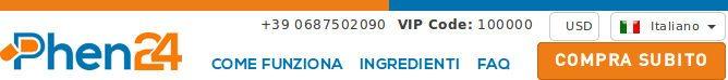 phen24.it è il sito ufficiale in italia per acquistare pillole phen24