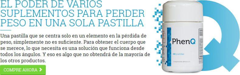 PhenQ España es un suplemento dietético para quemar grasa