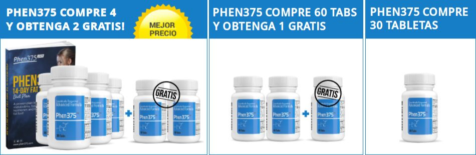 seleccione el mejor paquete de píldoras de phen375 que se adapte a sus necesidades