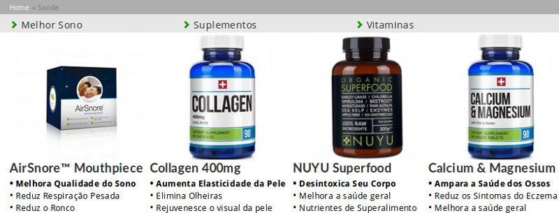 Bauer Nutrition gama de suplementos alimentares naturais para manter um corpo saudável