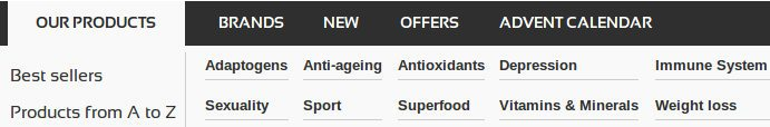 Buy Anastore products on anti-aging, depression, sexuality, super foods, vitamins to boost your metabolism