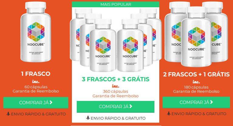 Como comprar garrafas noocube.pt para serem entregues em Portugal ou no Brasil