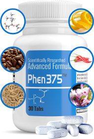 Ingredientes naturales de alta calidad en la composición de las píldoras phen375.com