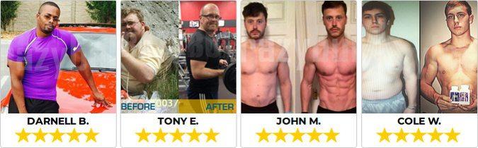 opiniões e comentários sobre Crazybulk para massa muscular e perda de gordura