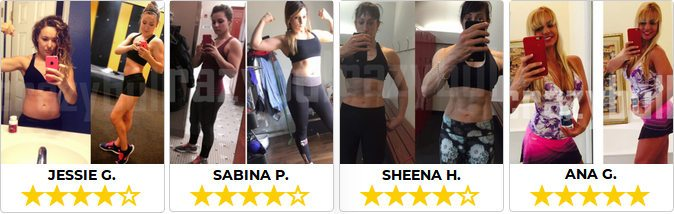 Opinioni da parte delle donne che hanno usato le capsule di crazybulk per il bodybuilding