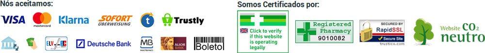 121doc está certificado na Europa, Portugal e Brasil e recomendado pelo Conselho Geral Farmacêutico