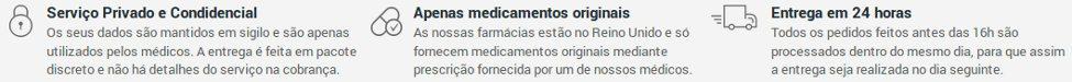 121Doc à uma farmácia de confiança autorizada pelas autoridades europeias a vender em Portugal e no Brasil