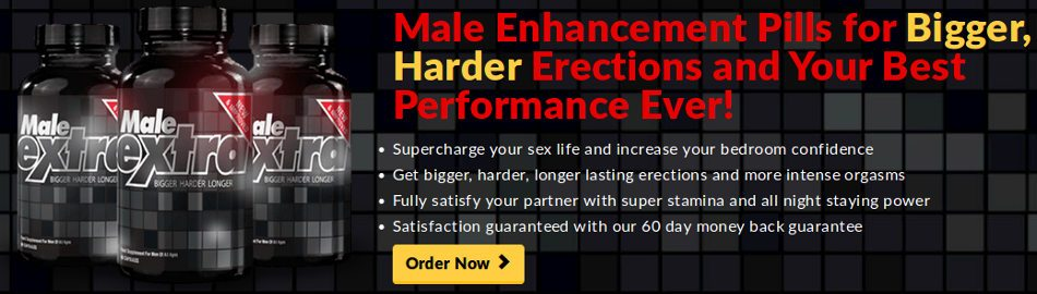 Bigger and stronger erections using Male Extra pills: consumer reviews
