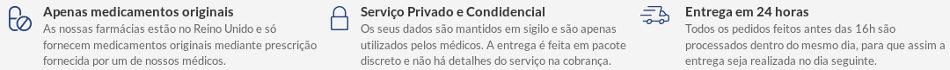 Euroclinix à uma farmácia de confiança autorizada pelas autoridades europeias a vender em Portugal e no Brasil