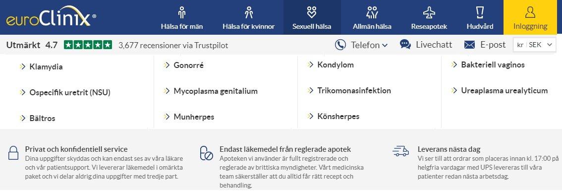 Euroclinix säkerställer behandling av olika problem som skallighet, diabetes, kolesterol, impotens