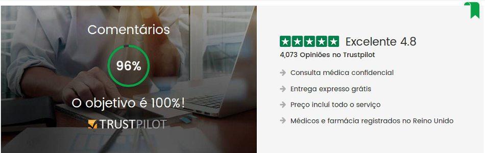 Opinião cliente HealthExpress: uma farmácia confiável e séria com entrega discreta em todos os lugares em Portugal e no Brasil