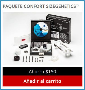 Sizegenetics comfort edition is the one that allows to benefit from the device as well as the manual DVD