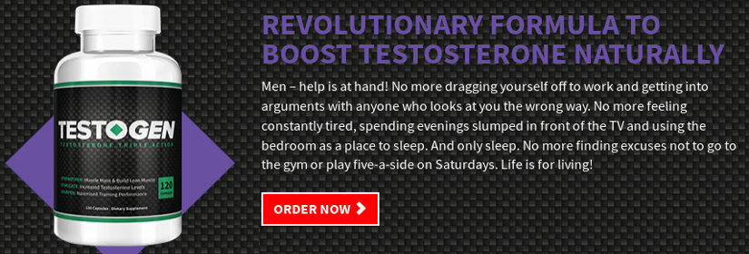 Testogen is a natural formula to increase the level of testosterone for men