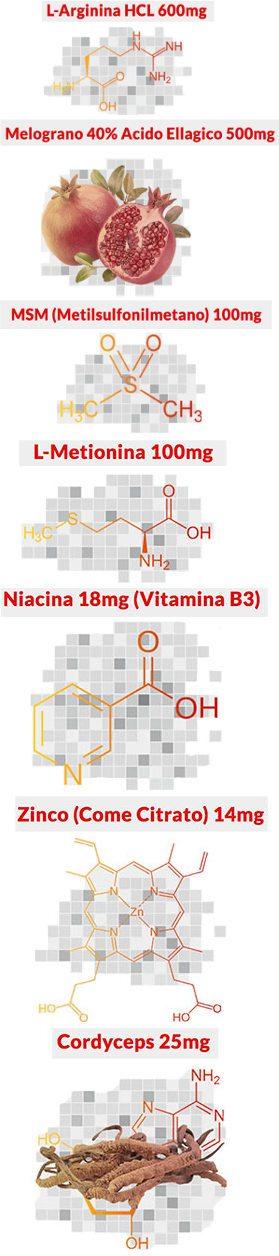 Ingredienti naturali di qualità superiore per MaleExtra efficacia in italiano