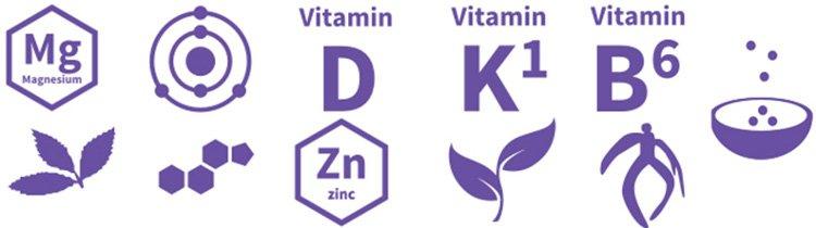 Testogen è costituito da ingredienti naturali di alta qualità ricchi di vitamine