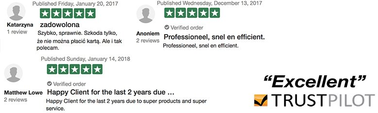 dokteronline uzyskać doskonałe recenzje i opinie oceniane przez klientów