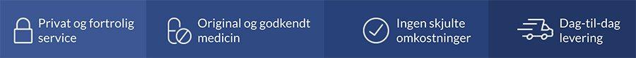 Euroclinix fordele: Fortrolighed, pålidelige behandlinger af certificerede laboratorier og hurtig levering
