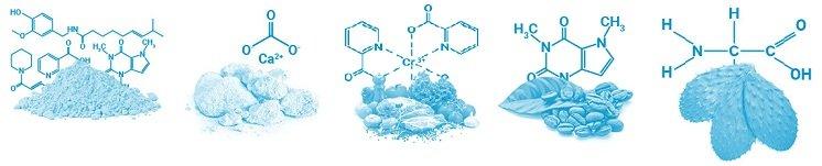 Naturliga ingredienser av hög kvalitet för att sikta på viktminskning