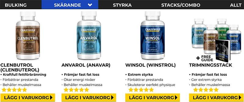 Naturliga steroider för att minska överflödigt fett och få muskler