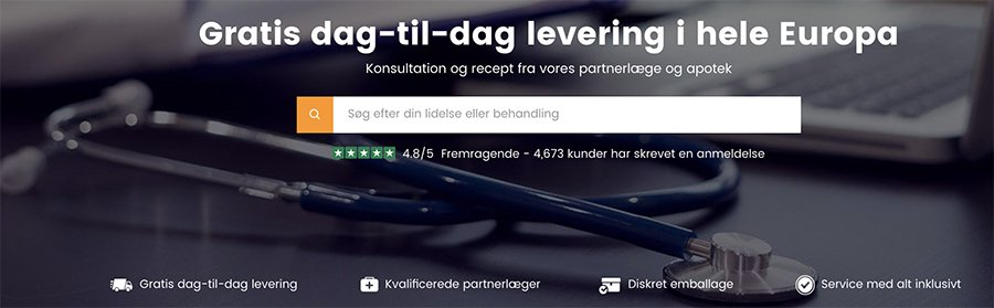 Pålideligt og seriøst apotek: HealthExpress tilbyder online recept af certificerede læger for alle sygdomme