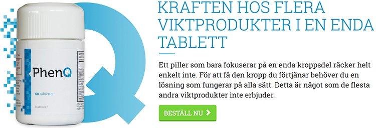 PhenQ Sverige är ett kosttillskott för att bränna fett