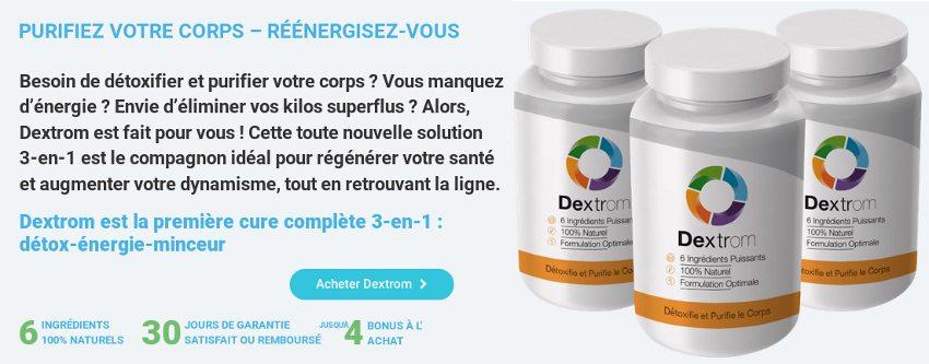Dextrom est une pilule pour purifier le corps et augmenter l'énergie