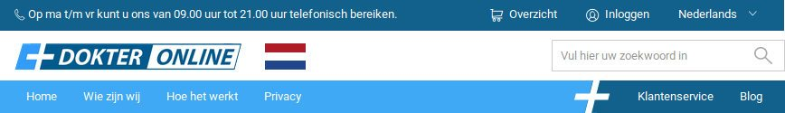 Dokteronline: kopen in Nederland - Beoordelingen om te zien of de site betrouwbaar is